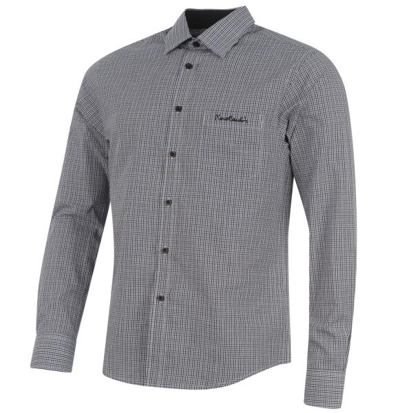 563384caa74d Pierre Cardin pánska košela s dlhým rukávom. Farba  čierno modro biela.  Materiál  65% polyester