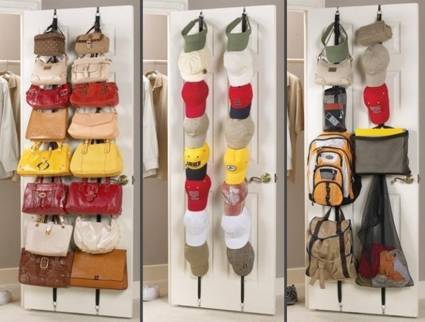 Praktick z vesn organiz r kabeliek na dvere for Percheros para colgar bolsas