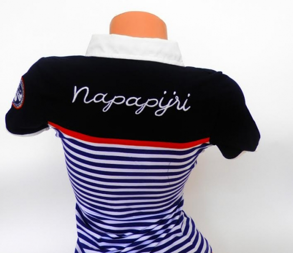 7ea0d1531f7b Dámske polo tričko Napapijri. Krásne a kvalitné polotričká Napapijri pre  dievčatá a ženy v každom veku. Dôležité. Dámske polo tričko Napapijri