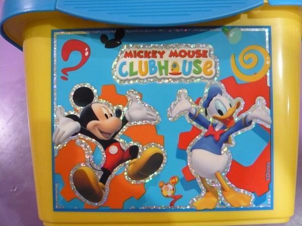 006178e88e1ad Dôležité. Kontajner prenosný Mickey Mouse ...