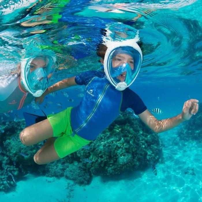 Výsledok vyhľadávania obrázkov pre dopyt CELOTvárová maska na šnorchlovanie