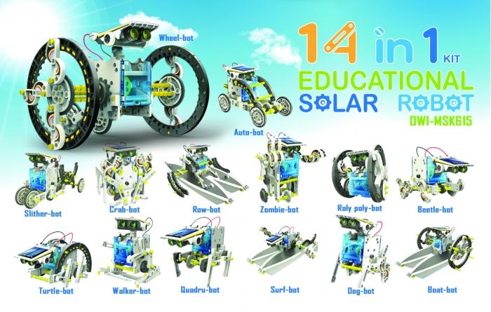 Výsledok vyhľadávania obrázkov pre dopyt solarny robot 14 v 1