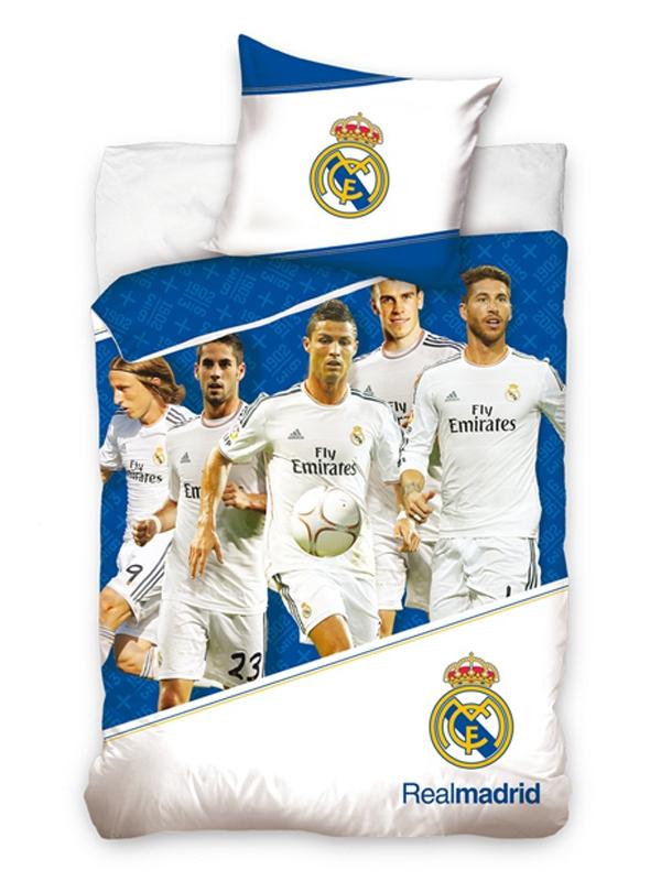 8c506fbae Dôležité. Bavlnené obliečky Real Madrid ...